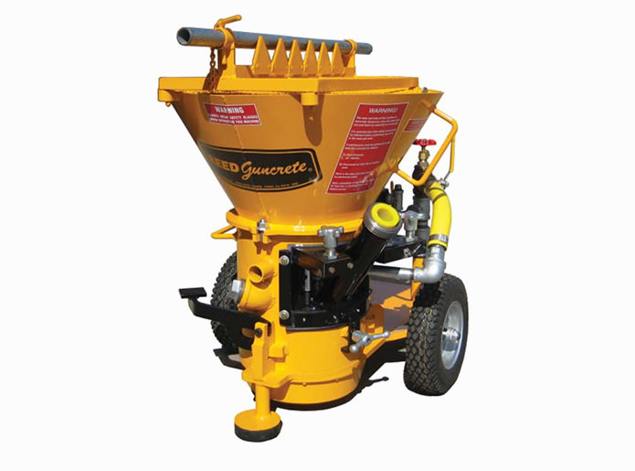 REED Sova Gunite Machine